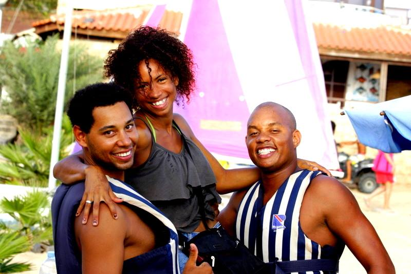 """Aan het """"werk"""" in Kaapverdië. Goede job met eten en drinken voorzien evenals een luxe villa. Gunstige spaarcapaciteit."""