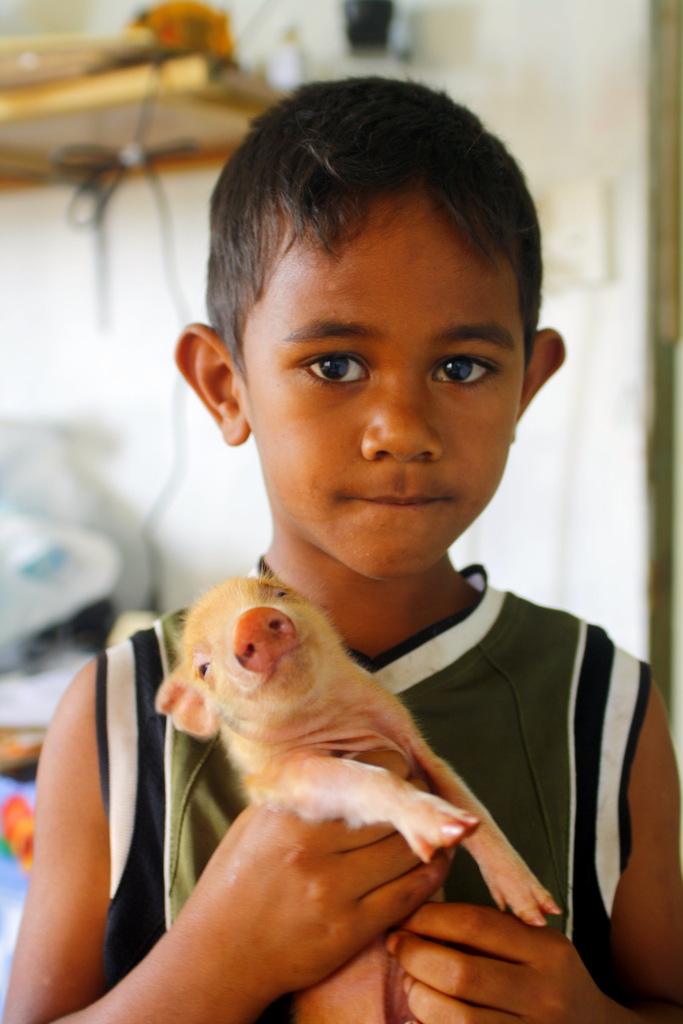 3. Vriendelijke mensen in Tonga