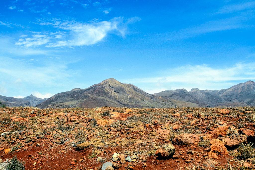 Sao Nicolau Kaapverdie - dorre landschappen